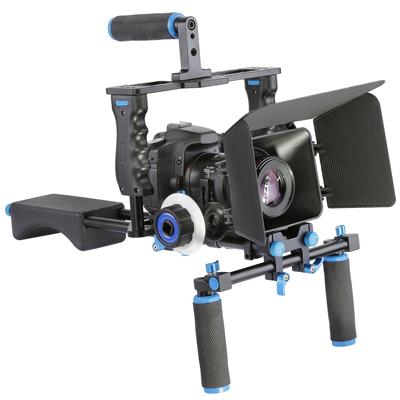 DSLR Kamera mit Rig