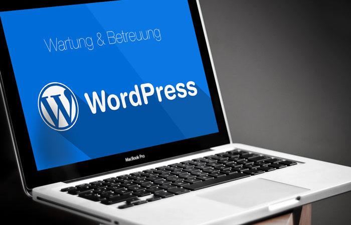 Wordpress Wartung und Betreuung